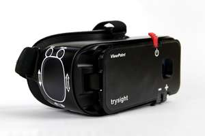 trysight ViewPoint wearable magnifier with speech