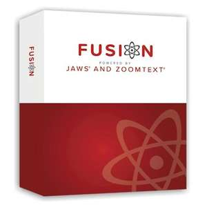 Zoomtext Fusion box
