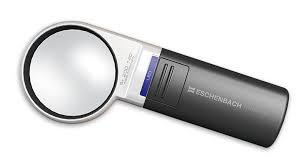 Mobilux LED Hand-held Magnifier 5x Magnification