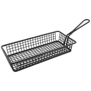 CL473 - Olympia Mini Rectangle Presentation Basket Black - CL473