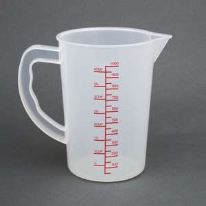 CG975 - Vogue Measuring Jug 1Ltr - Each - CG975