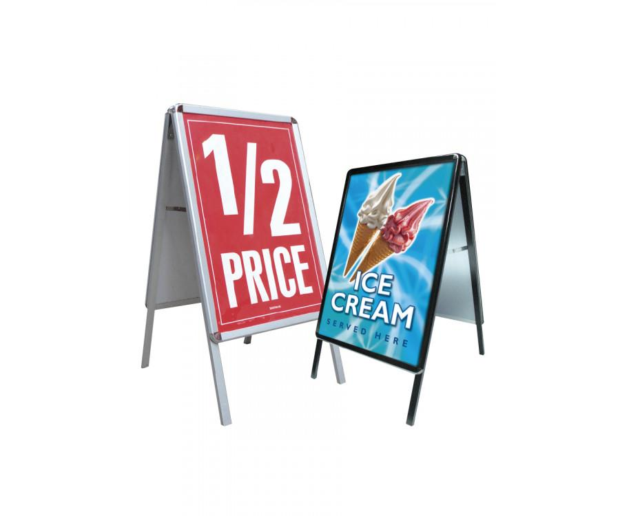 Poster Snap Frame A-Board - 4 Sizes Available