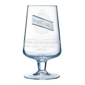 GG886 - San Miguel Stemmed Glass - 1pint (Box 24) - GG886