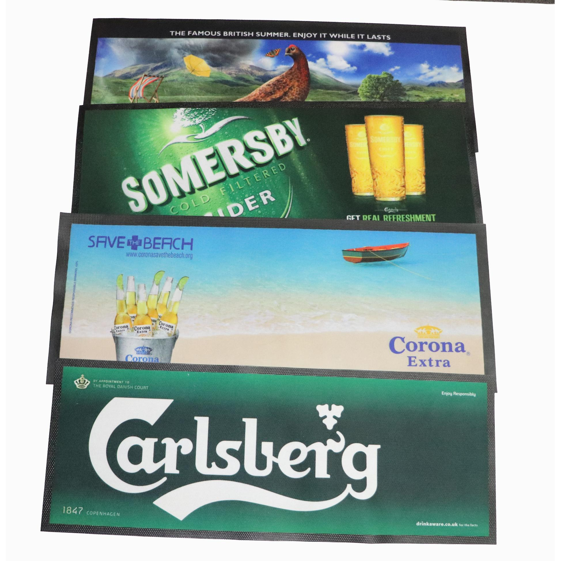 Bar Mat Runners - Custom Printed