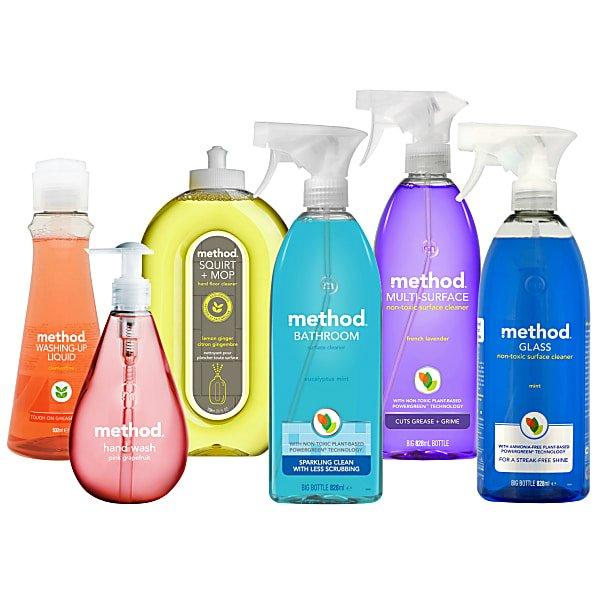 Method Cleaning Agents