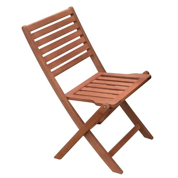 GR398 - Bolero Wooden Folding Side Chair - Case of 2 - GR398