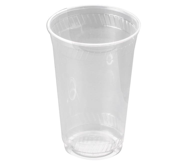 1006 - Cold Cup Compostable Pint Clear Tumbler CE - Case 960 - 1006
