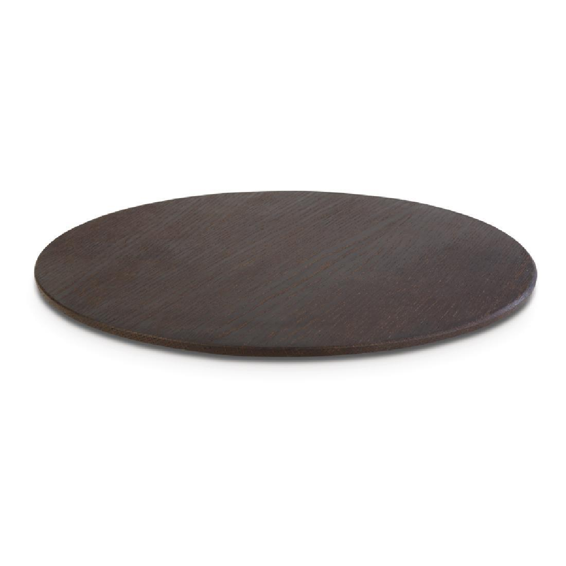 DE555 - APS+ Oak Wood Platter 300mm - Each - DE555