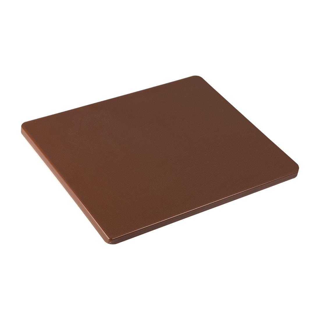 GL292 - Hygiplas Gastronorm 1/2 Brown Chopping Board- Each - GL292