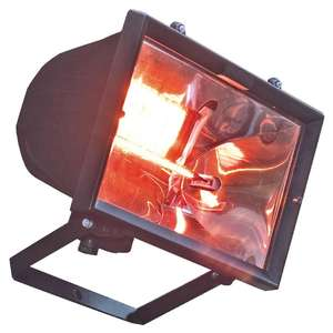CC036 - Waterproof Infrared Patio Heat Lamp - CC036