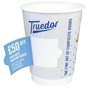 CUSTOM-CUPS-COUPON - Coupon Cups Double Wall Paper Cups - Prize Reveal Cups