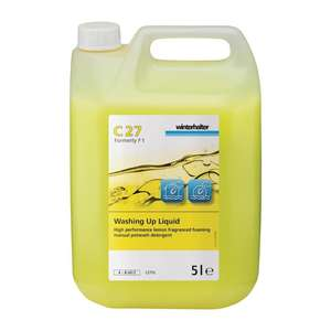 DA152 - Winterhalter C27 Washing Up Liquid Concentrate 5Ltr - 2 Pack - DA152