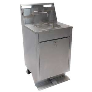1350651 - Mobile Stainless Steel Hand Wash Sink 20L - Each - 1350651