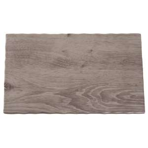 APS Wood Effect Melamine Tray GN 1/4 - Each - GK648