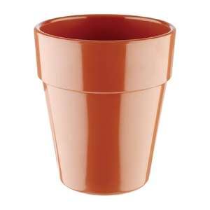 APS Flowerpot 130mm Terracotta - Each - HC747