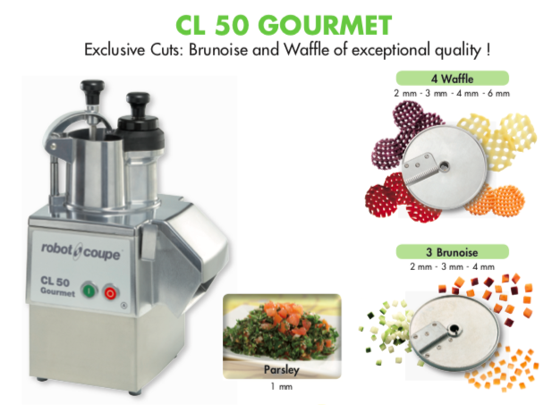 Robot Coupe CL50 Gourmet & Accessories