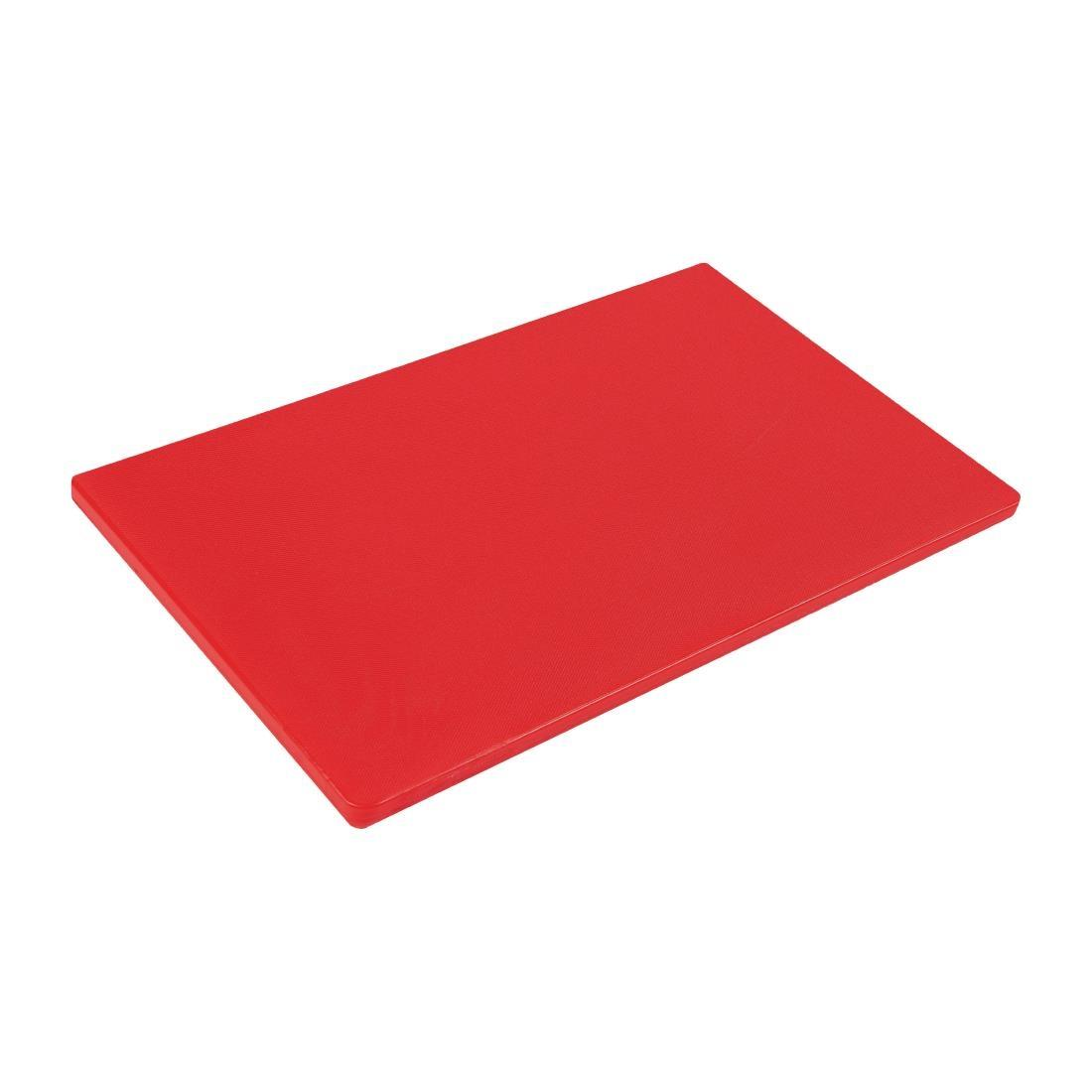GL283 - Hygiplas Gastronorm 1/1 Red Chopping Board- Each - GL283