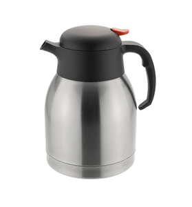 C10005-1 - Sunnex Vacuum Jug Push Button 1.5 Litre Stainless Steel - Each - C10005-1