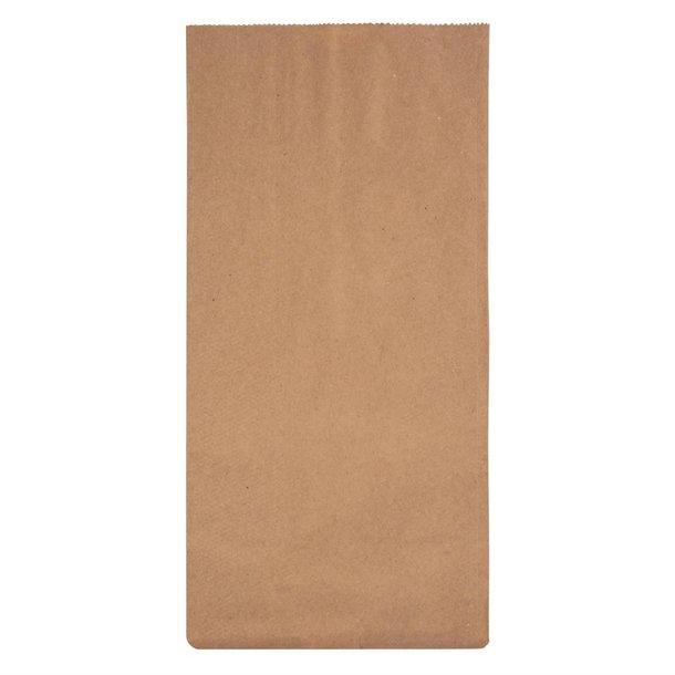 "FC871 - Fiesta Green Biodegradable Kraft Grab Bags 317 x 152mm 12.5"" x 6"" Compostable Recyclable"