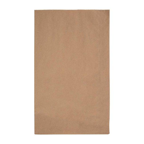 "FC872 - Fiesta Green Biodegradable Kraft Grab Bags 247 x 127mm 9.75"" x 5"" Compostable Recyclable"