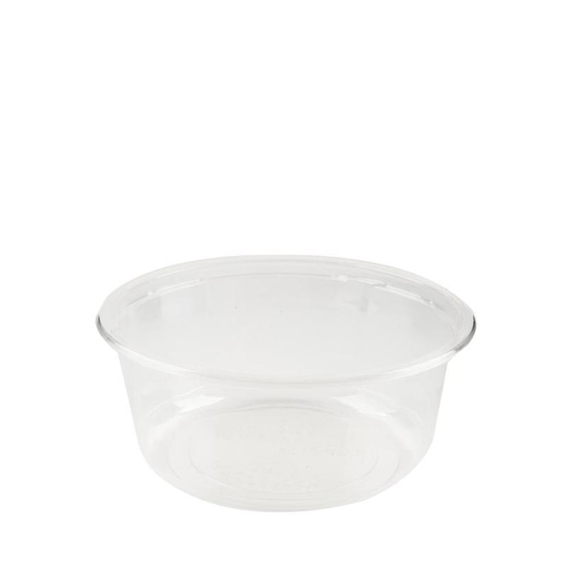 P360-PLA - Enviroware 12oz Clear PLA Bowl 360ml - Case 1000 - P360-PLA
