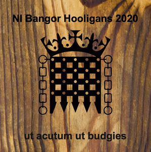 CUSTOM-COASTERS-WOODEN - Portcullis NI Bangor Hooligans 2020