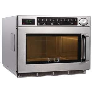 GK640 - Buffalo Programmable Commercial Microwave Oven 1850W - GK640