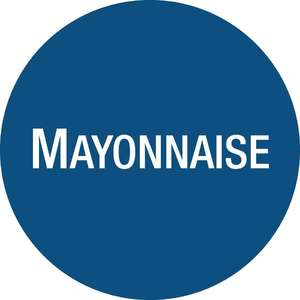 GJ073 - FIFO Sauce Bottle Mayonnaise Labels - Case of 24 - GJ073
