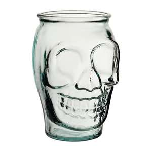 CS039 - Utopia Tall Skull Jar - 18oz 520ml (Box 6) - CS039