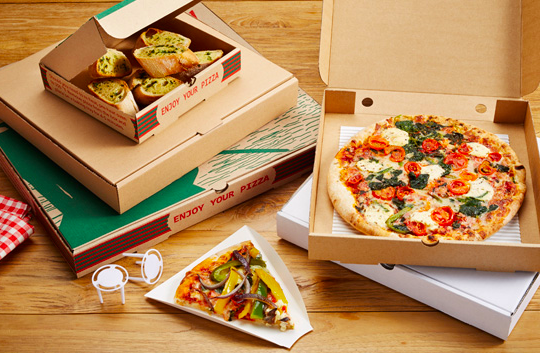 Pizza Boxes - Custom Printed Pizza Boxes - Custom Branded Pizza Boxes - Made in the UK