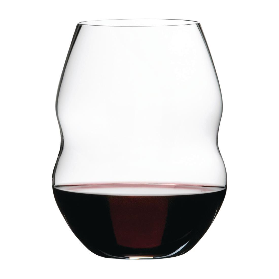 FB338 - Riedel Swirl Red Wine Glasses 580ml / 20½oz - Pack of 12 - FB338