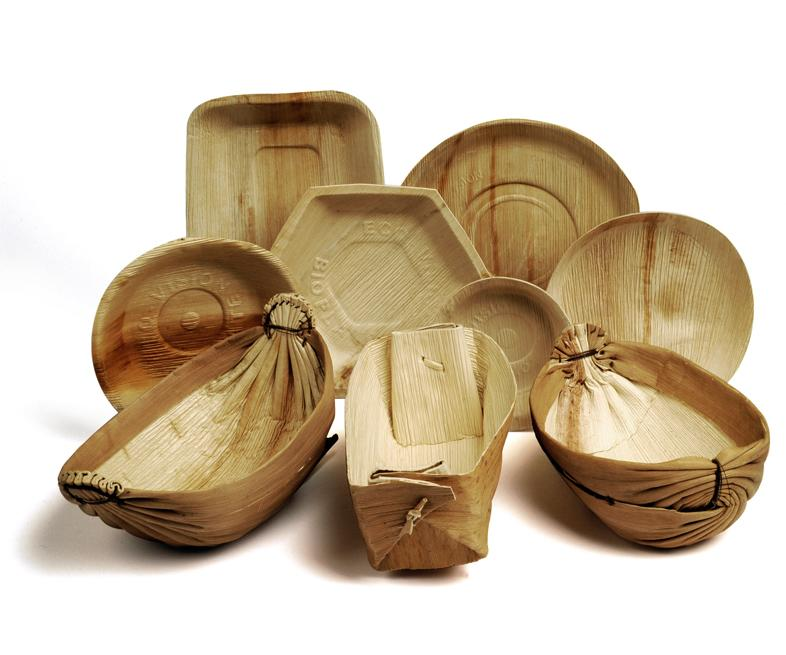 Palm Leaf Tableware