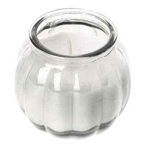 CS750 - Olympia Pumpkin Jar Candle Clear - Case 12 - CS750