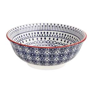 DR762 - Olympia Fresca Large Bowls Blue 205mm - Case  - DR762