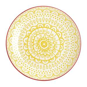DR779 - Olympia Fresca Plates Yellow 268mm - Case  - DR779