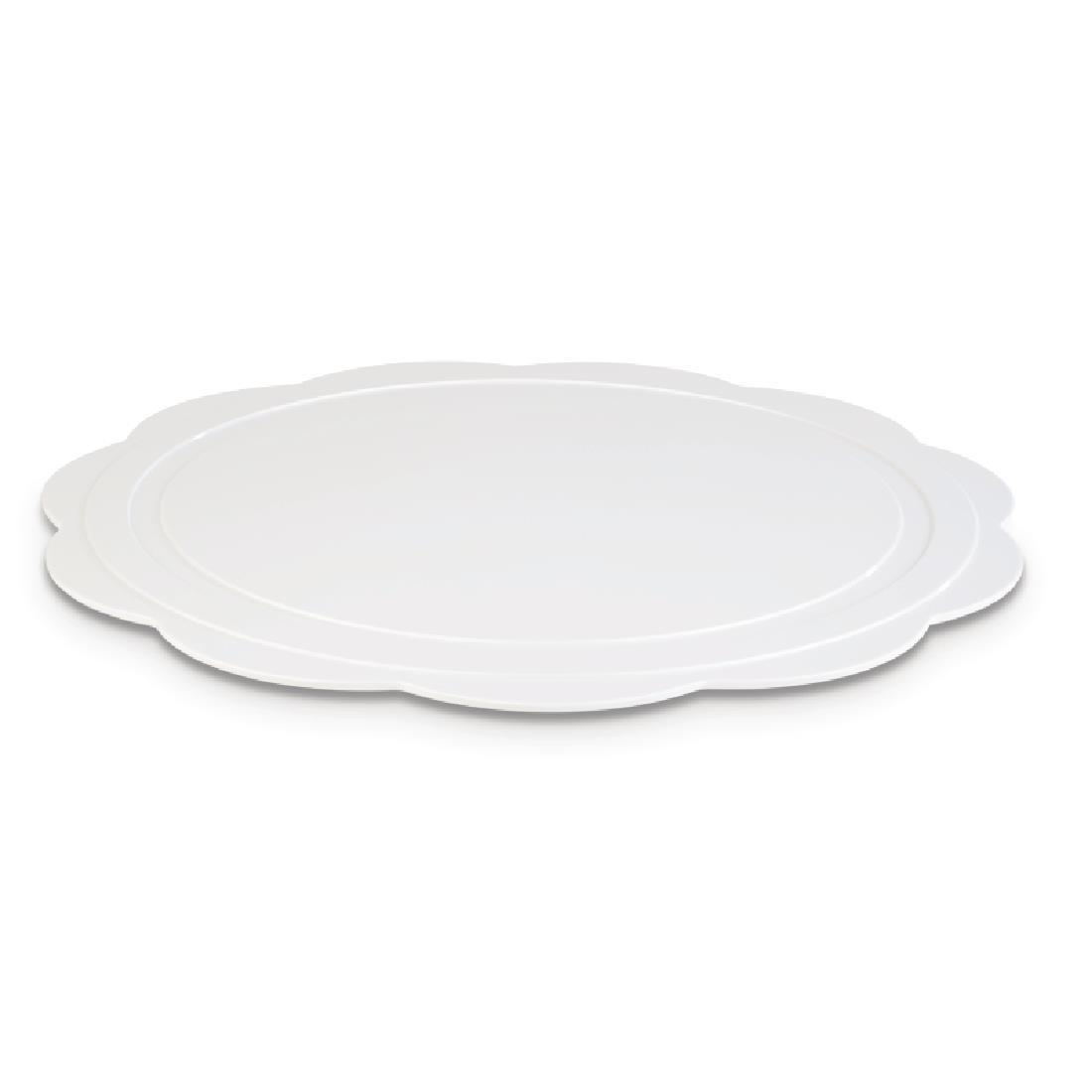 DE548 - APS+ Bakery Tray White 425mm - Each - DE548