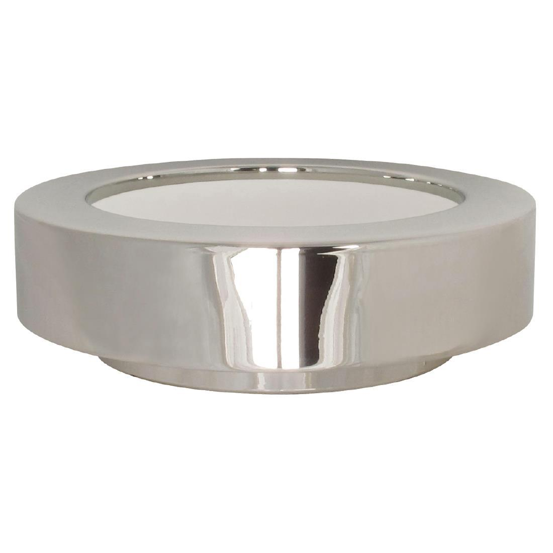 GC928 - APS Frames Stainless Steel Small Round Buffet Bowl Box - Each - GC928