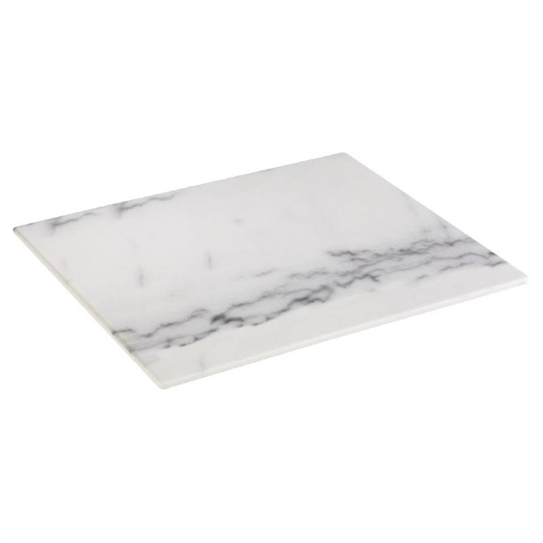 HC753 - Z-DISCONTINUED APS Melamine Tray Marble GN 1/2 - Each - HC753