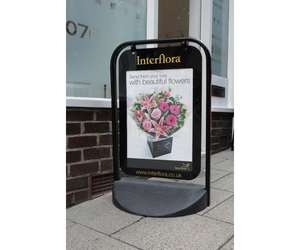 CUSTOM-PA007 - Swinger A2 Poster Display with Printed Graphics