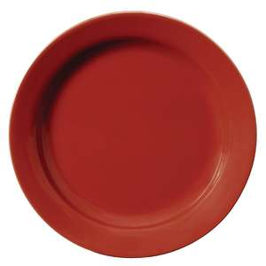 GK088 - Olympia Cafe Side Plates Red 180mm - Case  - GK088