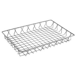 GM222 - Olympia St/St Wire Display Basket 450 x 300 x 50mm - Each - GM222