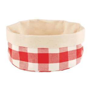DA654 - APS Bread Basket Round Large Red - Each - DA654
