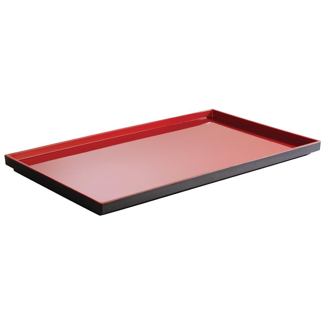 DT774 - APS Asia+  Red Tray GN 1/1 - Each - DT774