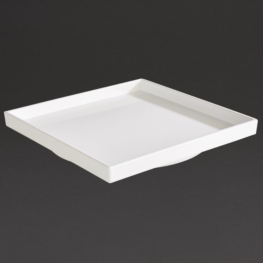 DW120 - APS Asia+ Square Bento Box White 230mm - Each - DW120