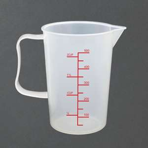 CG974 - Vogue Measuring Jug 500ml - Each - CG974