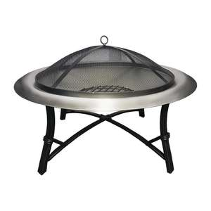 CS484 - Lifestyle Prima Stainless Steel Fire Pit - Each - CS484