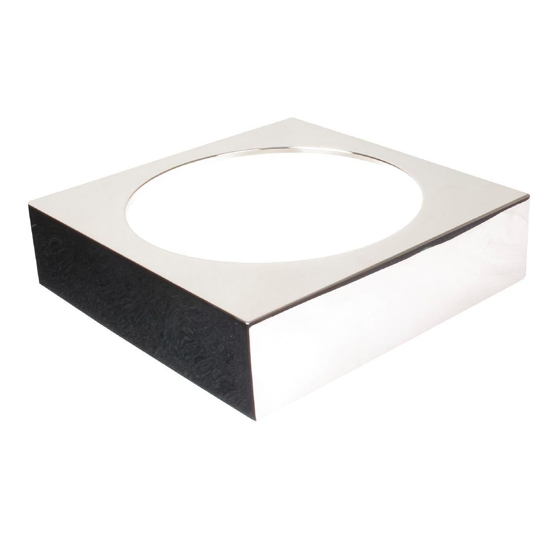 GC919 - APS Frames Stainless Steel Large Square Buffet Bowl Box - Each - GC919