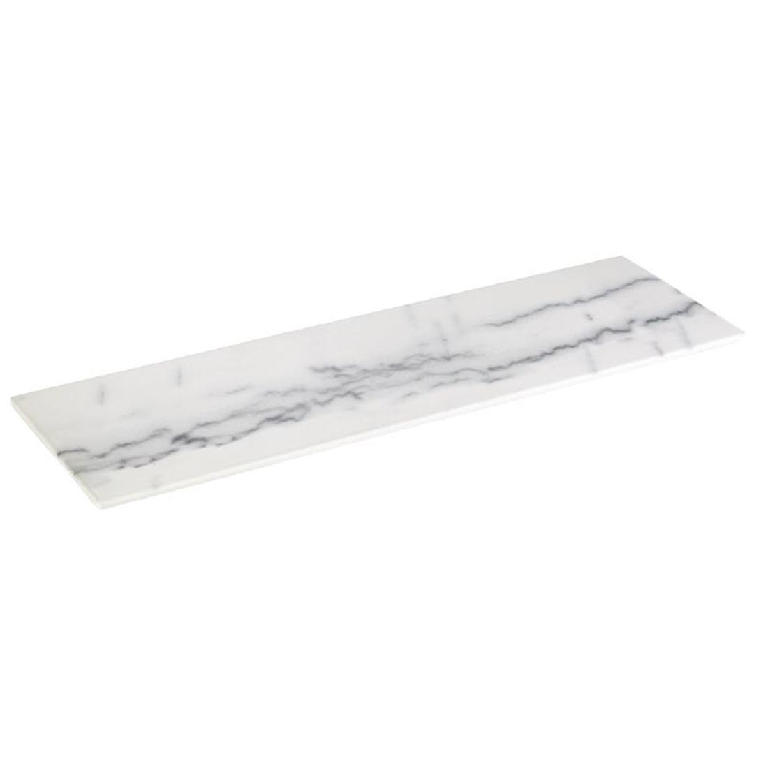 HC756 - Z-DISCONTINUED APS Melamine Tray Marble GN 2/4 - Each - HC756