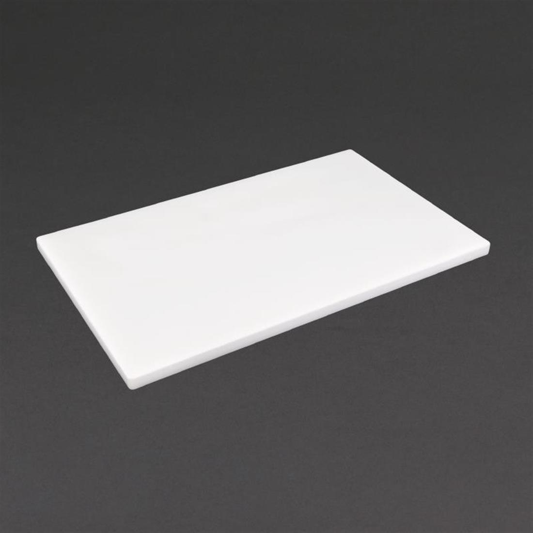 GL282 - Hygiplas Gastronorm 1/1 White Chopping Board- Each - GL282