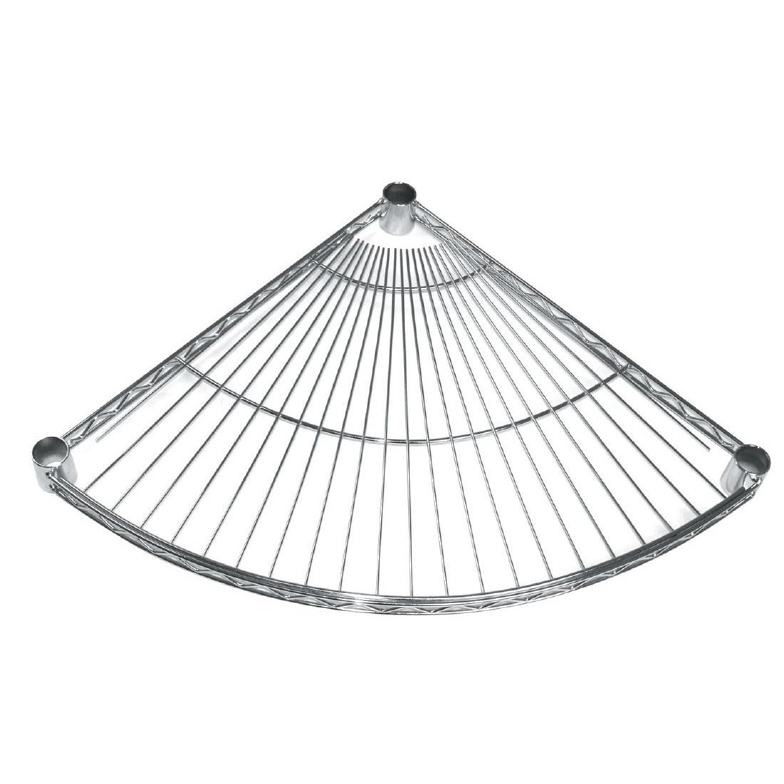 GF984 - Fan Shelf for Vogue Wire Shelving 457mm - Pack of 4 - GF984